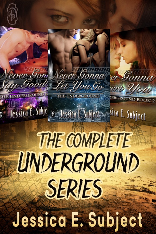 The Complete Underground series by Jessica E. Subject_500x750