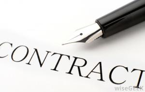 contract-and-pen