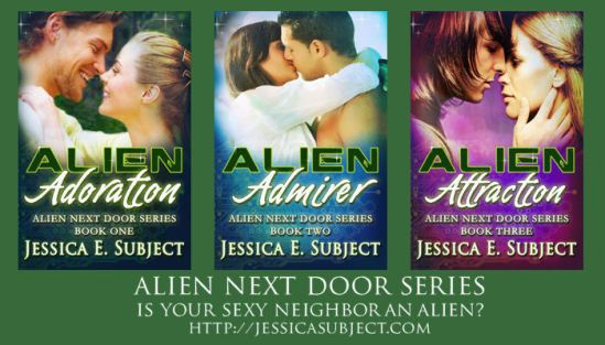 Alien Next Door series