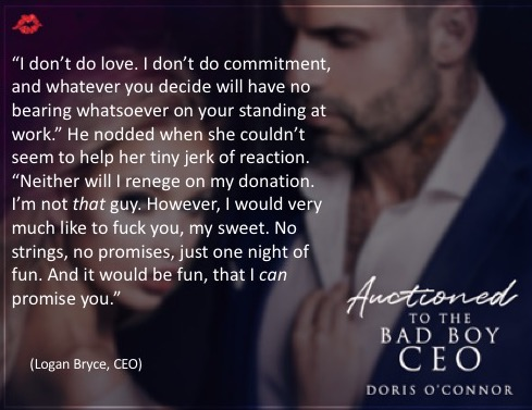 Auctioned to the Bad Boy CEO teaser