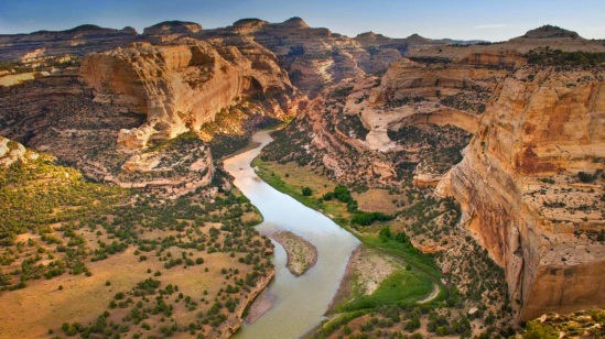 Yampa River flowing through Dinosaur National Monument, Colorado 20140719
