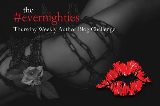 evernighties thursday weekly author blog challenge